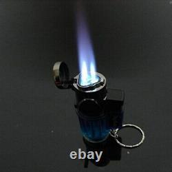 100 PACK Triple Torch Jet Flame Butane Gas Cigar Lighter Bulk Wholesale Lighters