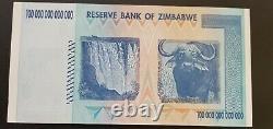 100 Trillion Dollars Zimbabwe Bank Notes AA 2008 P-91 UNC Authentic (5 PCS)