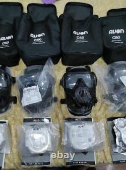 10 Avon C50 Gas mask basic kits