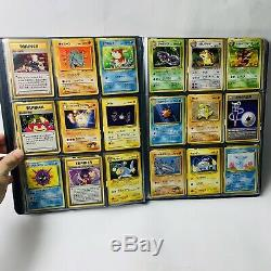 180x Vintage Japanese Pokemon Card Collection Lot With Binder #1