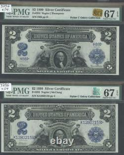 1899 $2 Porthole Complete Collection Of All Finest All14 Blocks Many Pop 1's Rqn