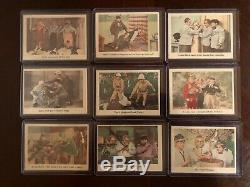 1959 Fleer The 3 Stooges (45) Card Lot Most In Amazing Condition! All Orig