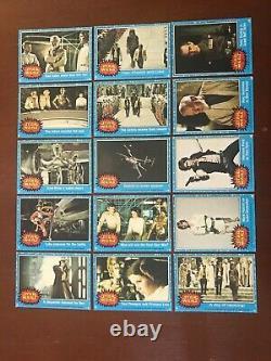 1977 Topps/Scanlens Star Wars series 1 Australian 72 card one star set EX+