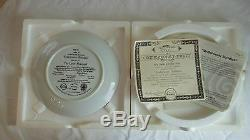 1993 BRADFORD EXCHANGE Disney THE LITTLE MERMAID Set of LIMITED EDITION PLATES