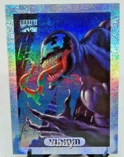 1994 Fleer Marvel Masterpieces Limited Edition Holofoil Venom #9 LOT of 10