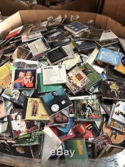 1 Pallets Music CD's (3000+ CD's) Great buy for resale! All Genres Music Cd's