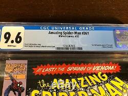 1st Appearance CARNAGE Amazing Spider-Man 361 362 363 CGC 9.6 9.8 Unlimited Lot