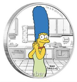 2019-2022 The Simpsons 17 Coin Collection-18.5oz Of Silver + PNCRare Set