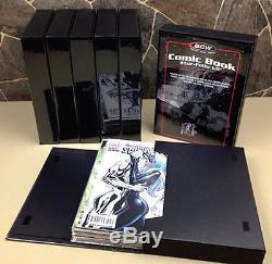 20 BCW Comic Stor Folio Storage Box Portfolio Case Cover Pocket