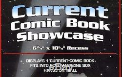 20 BCW Current Comic Showcase Wall Mount Display Frame CBS CUR