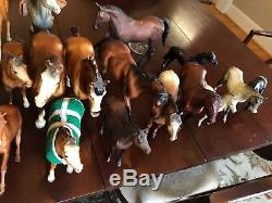 24 Vintage 70s Breyer Horses
