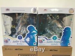 2X Bandai FiguartsZERO Chouette Sailor Moon Sailor Uranus & Neptune IN STOCK