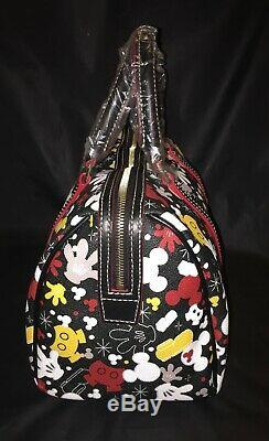 2-pc NWT Disney Parks I AM MICKEY MOUSE Satchel Dooney & Bourke + COSMETIC BAG