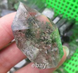 2lb Wholesale Natural chlorite ghost phantom quartz rock point healing 10-16pcs