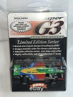 4 HIGHLY COLLECTIBLE F-1 G3s 175 of 300! HO Slot Car G-Plus Viper AFX BSRT