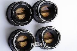 4x M42 Yashica Yashinon-DX 1.7/50 very nice lot, konvolut, collection tested A7