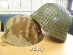 5 X Wehrmacht Helm M35 + 1 Luftschutzhelm Gladiator aus Theaterfundus, lesen