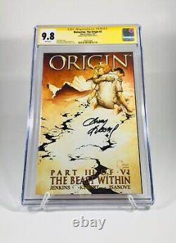 9.8 CGC Signature Series Wolverine The Origin #1-6 signed by Andy Kubert