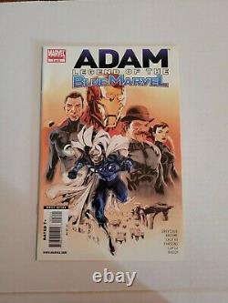 Adam Legend of the Blue Marvel 1 2 3 4 5 Full Set NM Low Print Run HTF Lot of 5