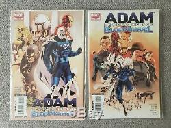 Adam Legend of the Blue Marvel #1 & #2 SET -1st app Adam Brashear Unpressed