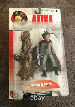Akira Trigun 3D Animation Japan Series 1 Action Figure Set of 4 2000 McFarlane