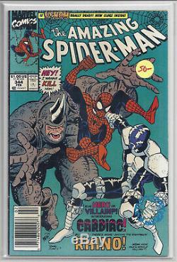 Amazing SpiderMan #298, #299 Venom #344 1st Kasady NEWSTAND See Scans, GRADES