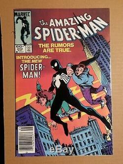 Amazing Spider-Man #252, #300 1st Venom & Secret wars #8