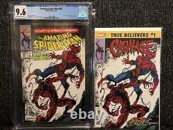 Amazing Spider-man #361 CGC 9.6 NM+ 1992 CARNAGE 1st App. MARVEL Venom NEW MOVIE