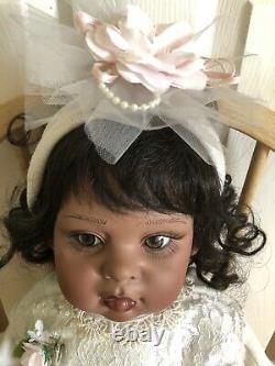 Authentic FayZah Spanos Collection TU-TU CUTIE PETUTIE African American DOLL