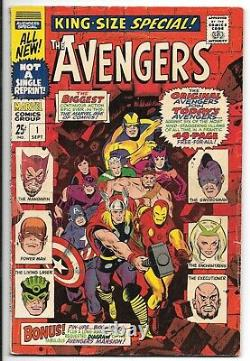 Avengers #11 and Special #1, #2 & #5 Lot of 4 (1964-1978, Marvel Comics)