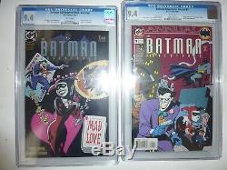 BATMAN ADVENTURES MAD LOVE #nn CGC 9.4 BATMAN ADVENTURES ANNUAL #1 CGC 9.4