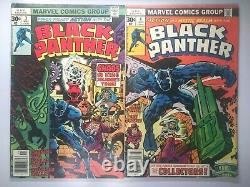 BLACK PANTHER 1st appearance Killmonger JUNGLE ACTION+ LOT of 11 CHEAP