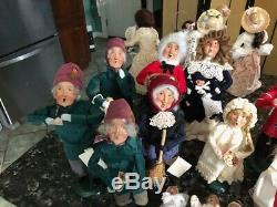 BYERS' CHOICE CAROLERS Lot of 31