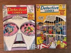 Batman & Detective Comics 13 ISSUE LOT Silver Age 1961-66 Nice Condition