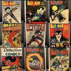 Batman & Detective Comics Golden Age Collection 40 Book Lot. ONCE IN A LIFETIME