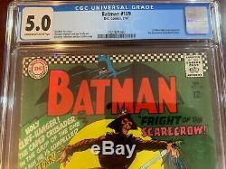 Batman Silver Age Collection 155, 171, 181, 189 Villain Silver Age CGC Graded