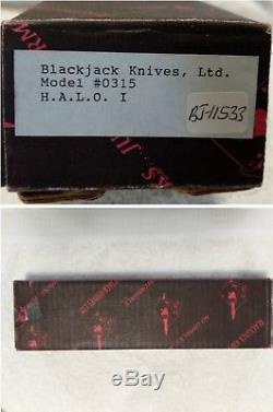 Blackjack Knife HALO! No 0315 NEW OLD STOCK FIGHTER EFFINGHAM, IL USA! $99 N/R