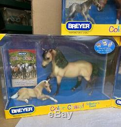 Breyer Color Crazy lot Susecion Marabella Amber Ashley Le Fire Mares and Foals N