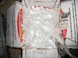Bulk Wholesale 2lb Lot 3-5 Selenite Crystal Stick Wand Blades BEST DEAL