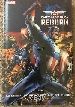 Captain America by Ed Brubaker Complete run. Omnibus, HC, TPB lot New