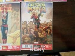 Captain Marvel #14, #17, #2, #5 +true believers 1st and 2nd Kamala Khan