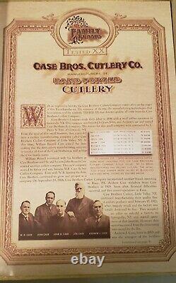 Case family brand encyclopedia Knife Set Volume 1 thru 3