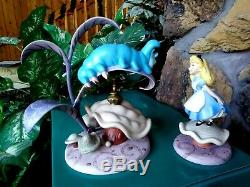 Caterpillar Who R U, Alice Properly Polite, Wdcc Disney Figurine Set, New, Mib