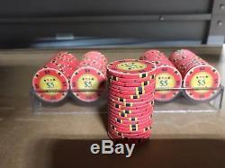 Ceramic 10 Gram Poker Chips $5 RED (lot of 500)