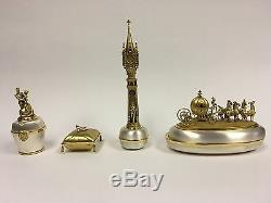 Cinderella's Magical Night Set of 4 by Olszewski, Disney Showcase Collection