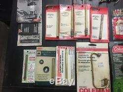 Coleman Lantern Parts Lot Many Nos Items Still In Packages