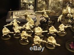 Cryx Army Warmachine Metal Privateer Press Miniatures, Cards, Tokens, Collection