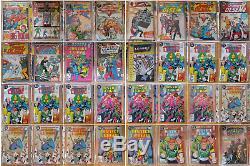 DC Comic Collection, 2400 total 1948-1996! Superman, Batman, Flash, Justice League