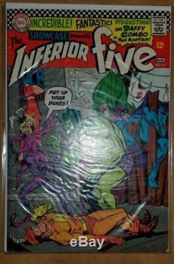 DC Comics Showcase Silver Age LOT x7