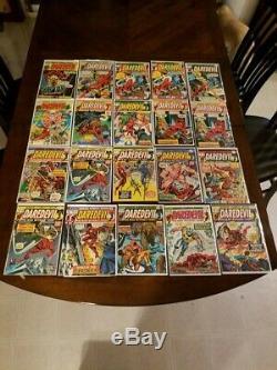 Daredevil #8 Thru #380 + Annuals Marvel 1st Elektra Bullseye 339 Comics Total